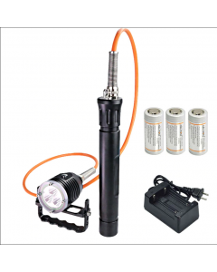 ARCONTE DH30 II & WH36 II 3 * CREE XM-L2 U2 3-modalità 3600-Lumes 0m LED Canister immersioni subacquee luce